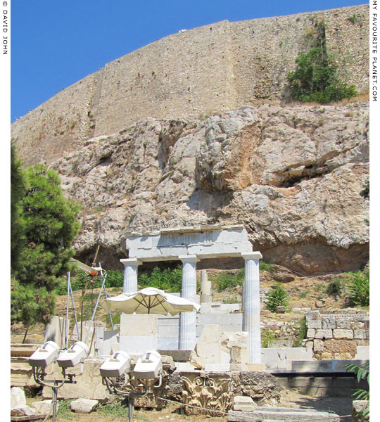 The sanctuary of Asklepios and Hygieia on the South Slope of the Acropolis, Athens, Greece at My Favourite Planet