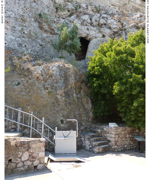 The Mycenaean Fountain, north of the Acropolis, Athens at My Favourite Planet
