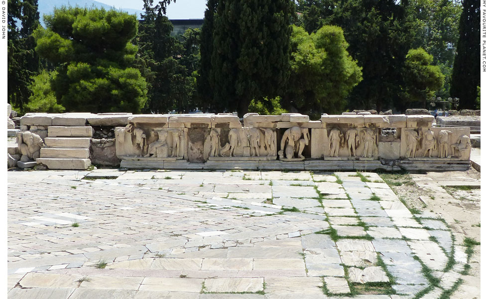 The Phaidros Bema in the Theatre of Dionysos, Athens at My Favourite Planet