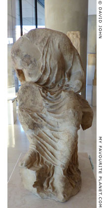 Statue of a seated goddess from the Athenian Acropolis at My Favourite Planet