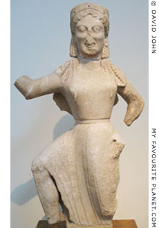 Archaic statue of Nike from Delos at My Favourite Planet