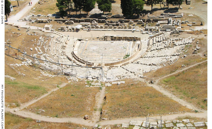 The Theatre of Dionysos, Athens, Greece at My Favourite Planet