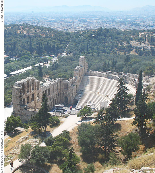 The Odeion of Herodes Atticus, Athens, Greece at My Favourite Planet