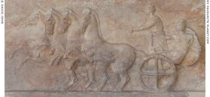 Votive relief for a chariot victory at My Favourite Planet