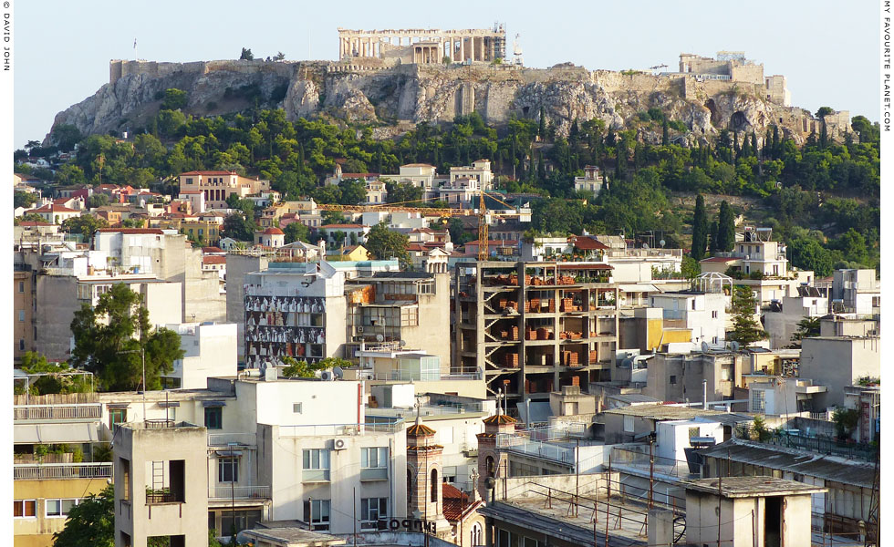 The north side of the Athenian Acropolis at My Favourite Planet