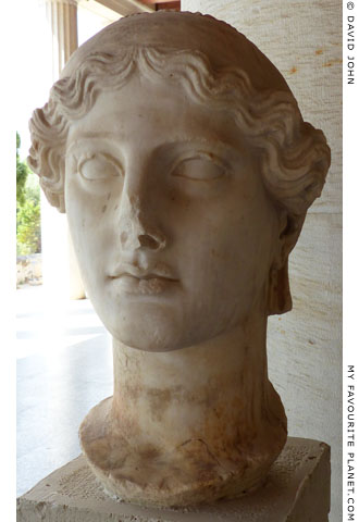 Head of Nike from the Athens Agora at My Favourite Planet
