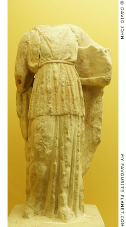 Statuette of Apollo Patroos, Agora Museum, Athens at My Favourite Planet