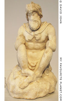 Statuette of Pan from the Temple of Olympian Zeus, Athens, Greece at My Favourite Planet