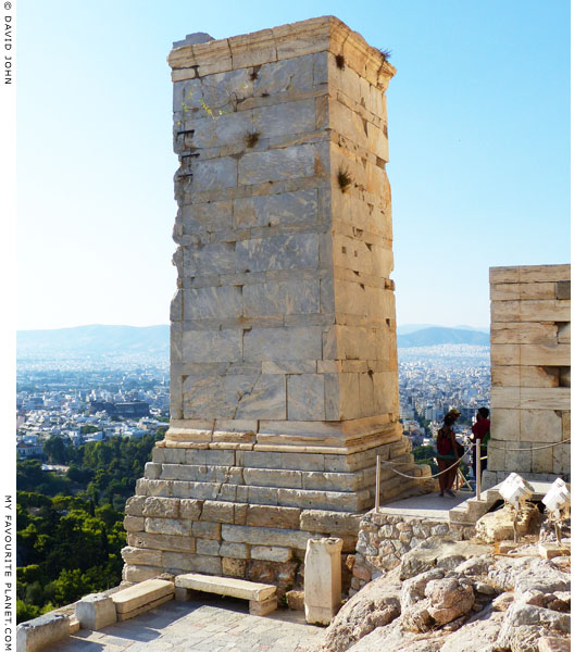 The Pedestal of Agrippa, Acropolis, Athens, Greece at My Favourite Planet