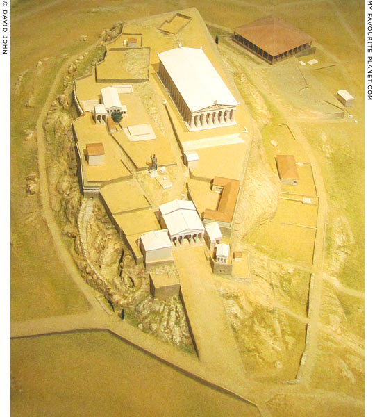 Model reconstruction of the Athenian Acropolis at My Favourite Planet