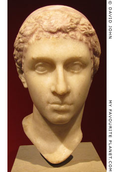 Portrait head of Cleopatra VII at My Favourite Planet