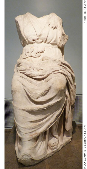 Statue of Dionysos from the Monument of Thrasyllos, British Museum, London