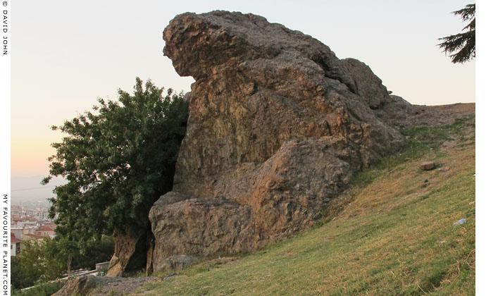 The Weeping Rock of Niobe, Manisa, Turkey at My Favourite Planet