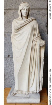 A statue of Aphrodite Sosandra, Naples at My Favourite Planet