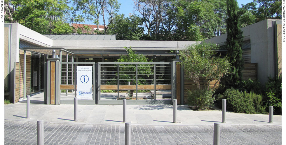 The tourist information office near the Acropolis metro station, Athens at My Favourite Planet