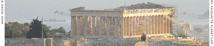 The Parthenon, Athens, Greece at My Favourite Planet