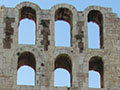 photos of the Odeion of Herod Atticus, Acropolis, Athens, Greece at My Favourite Planet