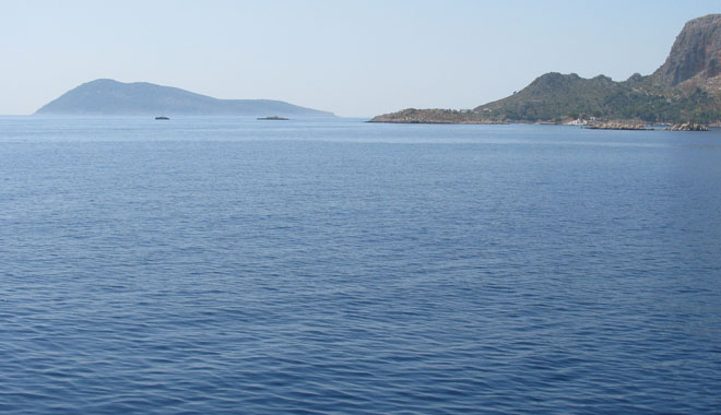 The Greek islet Stroggyli, southeast of Kastellorizo, Greece at My Favourite Planet