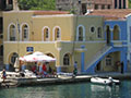 The Municipio, Kastellorizo's town hall, Greece at My Favourite Planet