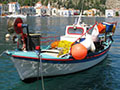 fishing boats in Kastellorizo harbour, Greece at My Favourite Planet