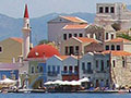 The east side of Kastellorizo's main harbour, Greece at My Favourite Planet