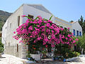 Renovated houses on the west side of Kastellorizo town, Greece at My Favourite Planet