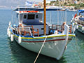 Cruise boat in Kastellorizo harbour, Greece at My Favourite Planet