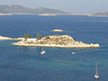 Agios Georgos islet, Mandraki harbour, Kastellorizo, Greece at My Favourite Planet