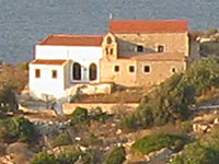 The twin churches of Saints Nicholas and Dimitrios, Kastellorizo, Greece at My Favourite Planet