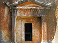 4th century BC Lycian style tomb on Kastellorizo island, Greece at My Favourite Planet