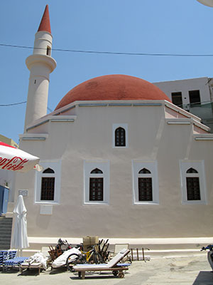 The 18th century Ottoman mosque, Kastellorizo, Greece at My Favourite Planet
