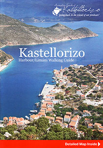 Front cover of the book Kastellorizo - Harbour, Limani Walking Guide