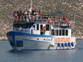The Meis Express ferry in Kastellorizo harbour, Greece at My Favourite Planet