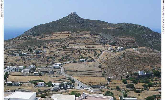Profitis Ilias, the monastery on the highest point on Patmos, Greece at My Favourite Planet