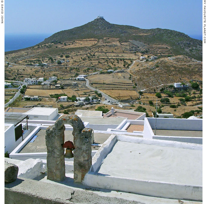 The view across the rooftops of Hora, Patmos, Greece at My Favourite Planet
