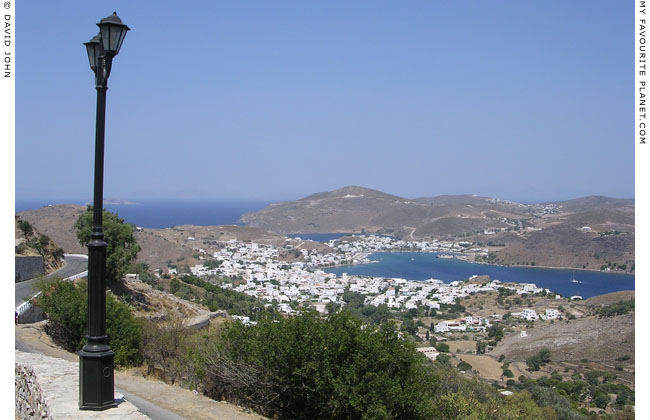 Skala, the main harbour of Patmos island, Greece at My Favourite Planet