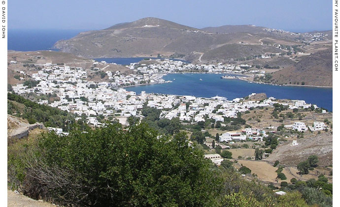 Skala, Patmos island, Greece at My Favourite Planet