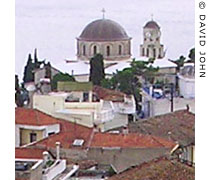 The Church of the Virgin Mary in the Panagia district, Kavala at My Favourite Planet