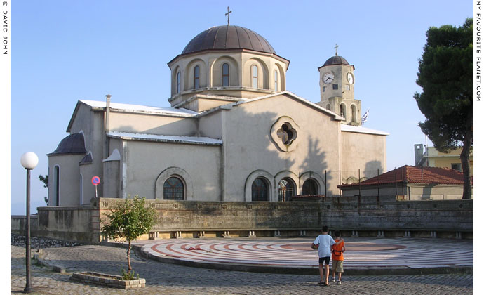 Church of the Virgin Mary (Panagia), Kavala, Macedonia, Greece at My Favourite Planet