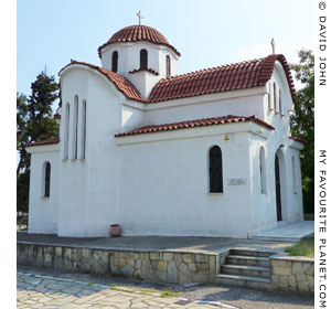 The church of Agios Anthimos at the Monastery of Agios Silas, Kavala, Macedonia, Greece at My Favourite Planet