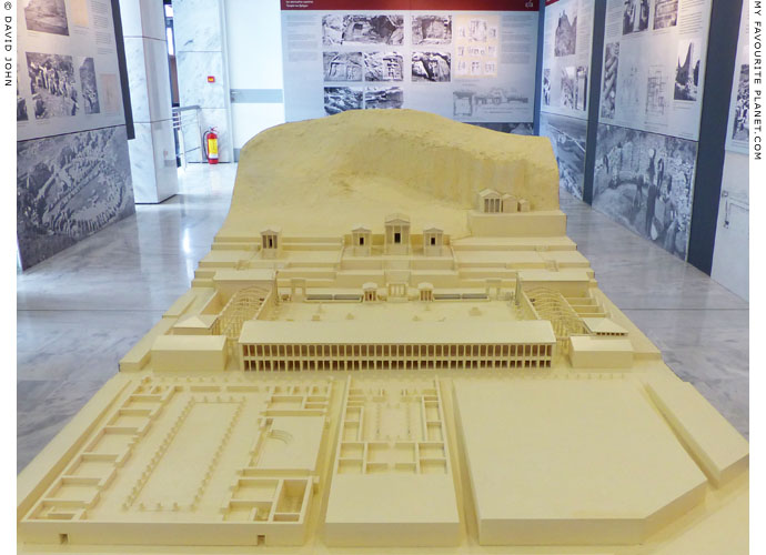 A model of the agora and Roman forum of Philippi, Macedonia, Greece at My Favourite Planet