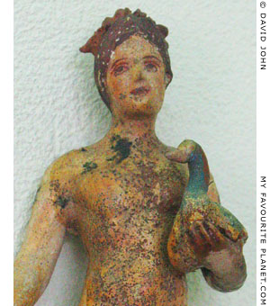 Female figurine in Kavala Archaeological Museum at My Favourite Planet