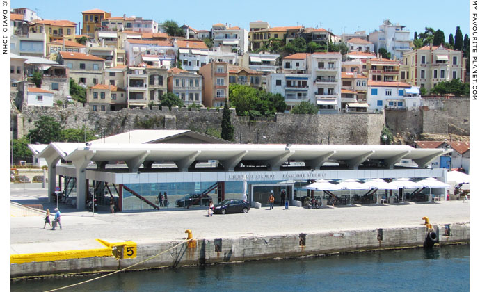 Kavala passenger ferry terminal, Macedonia, Greece at My Favourite Planet