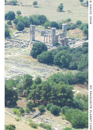 The archaeological site of Philippi, Macedonia, Greece at My Favourite Planet