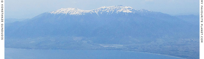 Aerial view of Mount Olympus, Central Macedonia, Greece at My Favourite Planet