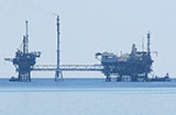 Offshore oil rig, near Thasos, Macedonia, northern Greece at My Favourite Planet