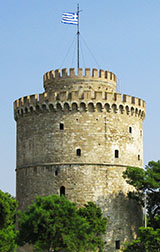 The White Tower - Lefkos Pirgos - Thessaloniki, Macedonia, northern Greece at My Favourite Planet
