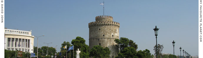 The White Tower of Thessaloniki, Macedonia, Greece at My Favourite Planet