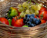 Summer fruit from a garden in Vrasna, Macedonia, northern Greece at My Favourite Planet