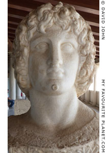 Bust of Alexander or Eubouleus in the Athenian Agora at My Favourite Planet